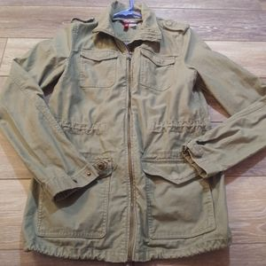 H&M Divided army green cargo jacket